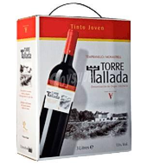 Torre Tallada Vino D.O. Valencia tinto 3 l