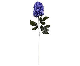Essencial Vara grande de preciosa flor de jacinto color morado, 95 cm, para decoración del hogar, essencial