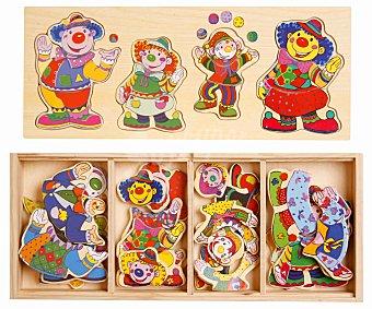 BABY Puzzle de Madera con Personajes 1 Unidad