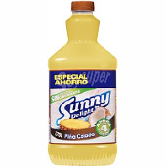 Sunny Delight Refresco sabor piña colada Botella 1,5 litros
