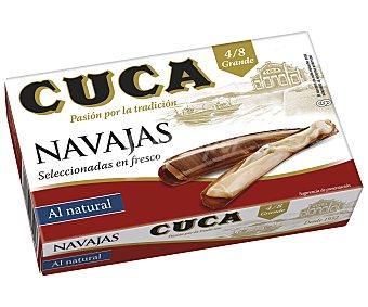 Cuca Navajas al natural, 4/8 piezas 65 g