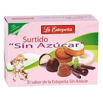 LA Estepeña surtido polvorones sin azúcar caja 300 gr Caja 300 gr