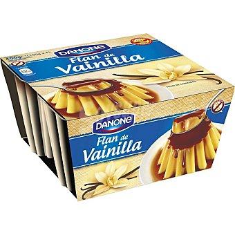 Danone Flan de vainilla Pack 4 x 100 g