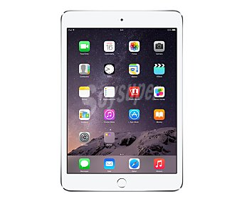 Apple Tablet 7,9 iPAD MINI3 PLATA 1 unidad