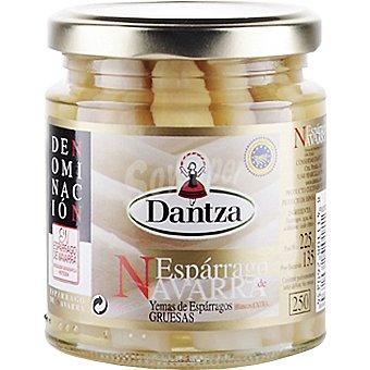 Dantza Yemas de espárragos gruesas D. O. Navarra Frasco 135 g neto escurrido