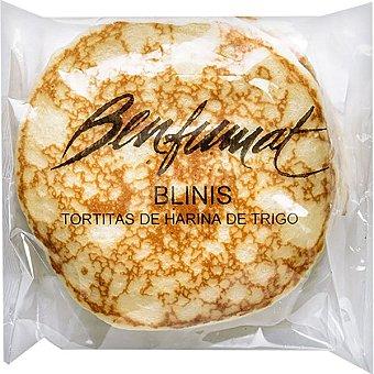 Benfumat Blinis tortitas de harina de trigo 6 unidades Bolsa 300 g