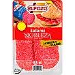 Nobleza salami extra en lonchas sin gluten envase 85 g envase 85 g ElPozo