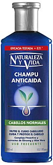Naturaleza y Vida Champú anticaída cabello normal Bote 300 ml