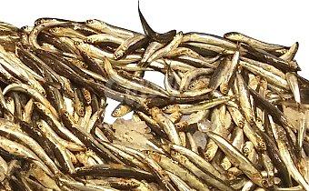 Boquerón fresco nacional pequeño (preparado: sin limpiar) granel 250 g peso aprox.