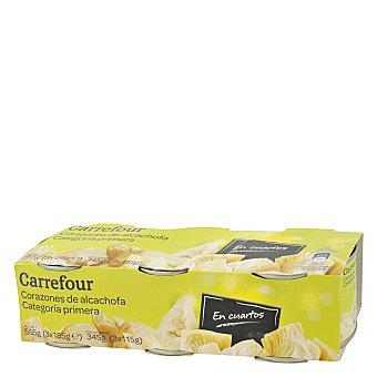 Carrefour Corazones alcachofa categoría primera 345 g