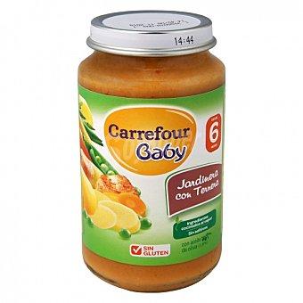 Carrefour Baby Tarrito de verduras jardinera con ternera desde 6 meses sin gluten 250 G 250 g