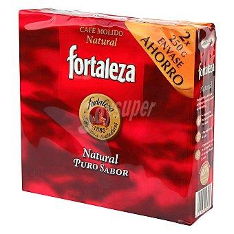 Fortaleza Café molido natural Pack de 2x250 g