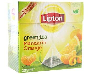 Lipton Té Verde Con Mandarina 20u