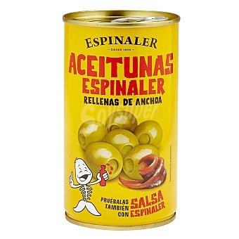 Espinaler Aceituna rellena de anchoa Lata 350 g