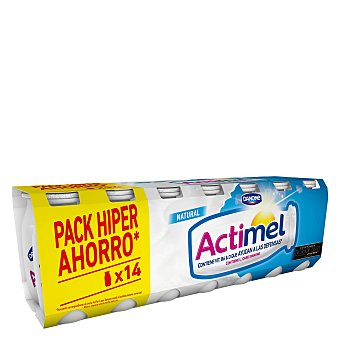 Actimel Danone Actimel natural para beber 14 unidades de 100 ml