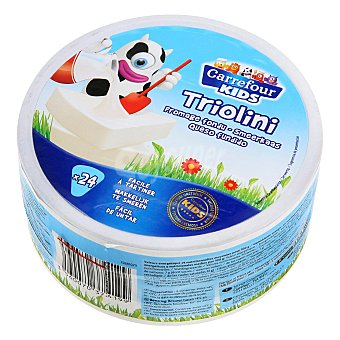 Carrefour Kids Queso fundido 24 porciones 400 g
