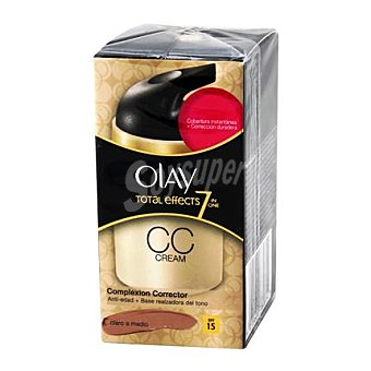 Olay Crema Total Effects de claro a medio 50 ml
