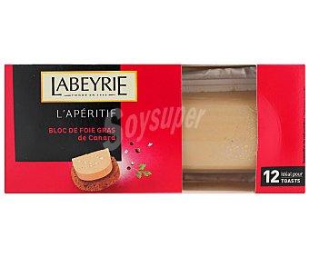 Labeyrie Bloc de foie grass de pato 75 gramos