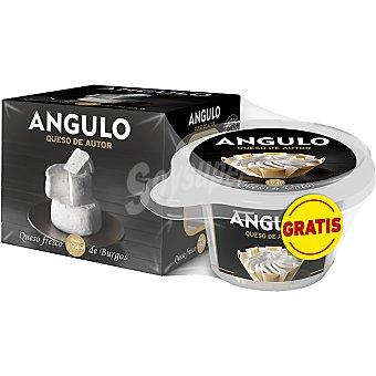 Angulo Queso de autor fresco de Burgos con regalo queso de untar envase 150 g con regalo queso de untar Envase 150 g