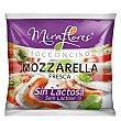 Mozzarella fresca sin lactosa Envase de 125 g Flor de Burgos
