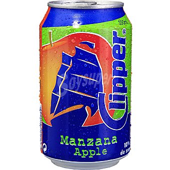 Clipper manzana lata 33 cl