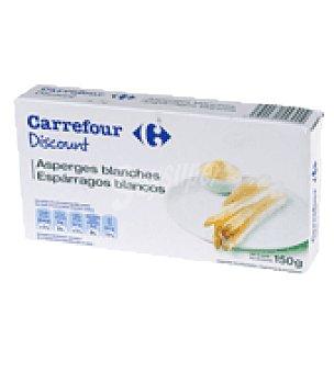 Carrefour Discount Esparrago blanco fiesta 9/16 150 g