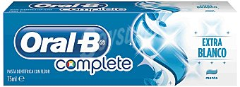 Oral-B Pasta de dientes + Enjuague Bucal frescura natural sabor menta y tomillo Tubo 75 ml