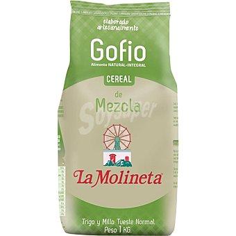 La molineta Gofio de trigo y millo bolsa 1 kg Bolsa 1 kg