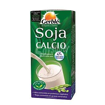 Gerblé Bebida soja calcio natural Brik 1 l