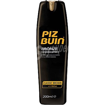 PIZ BUIN Bronze Tanning loción solar classic brown spray 200 ml