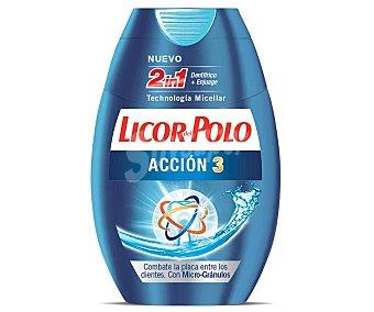 Licor del Polo Crema dental acción 3 Envase 75 ml