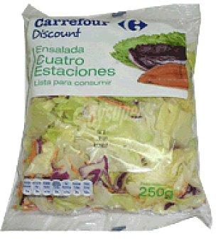 Carrefour Discount Ensalada 4 estaciones Bolsa de 250 gr