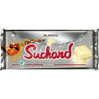 SUCHARD Turrón de chocolate blanco crujiente 260 g