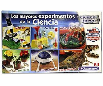 Clementoni Juego Científico Los Mayores Experimentos de Ciencia 1 Unidad
