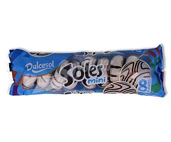 Dulcesol Mini rosquillas bañadas de chocolate blanco 160 gramos