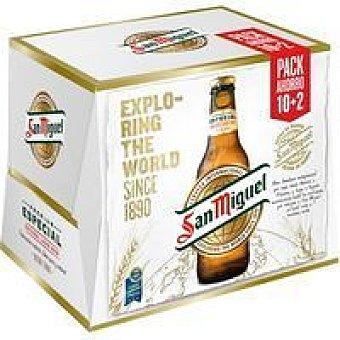 San Miguel Cerveza pack 10+2x25 cl