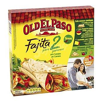 Old El Paso Kit fajita 2 263 g