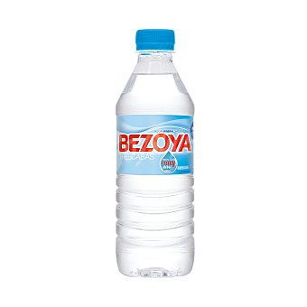Bezoya Agua mineral natural botella 500 ml botella 500 ml