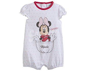 Minnie Disney Pelele corto para bebé Mouse, talla 74 talla 74