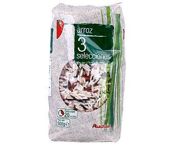 Auchan Arroz especial para ensaladas 3 selecciones 500 grs