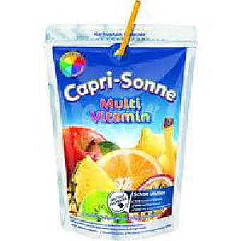 Capri Sonne Refresco multivitaminas Bolsa 220 ml