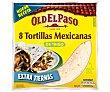Tortillas mejicanas de trigo Bolsa 326 g Old El Paso
