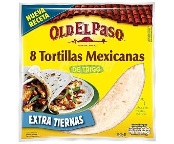 Old El Paso Tortillas mejicanas de trigo Bolsa 326 g