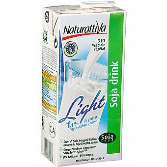 NATURATTIVA Bebida de soja light Envase 1 l