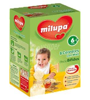 Milupa Cereal 8 cereales con miel efecto bifidus 500 g