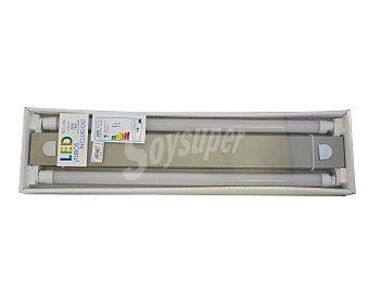 ACB Plafón fluorescente 2x10W, casquillo T8 y luz blanca 1 unidad