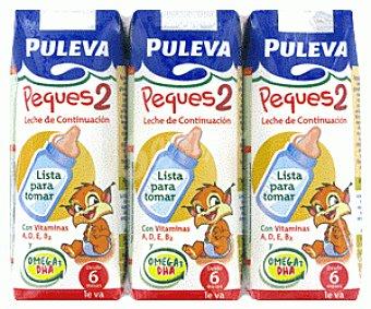 PULEVA PEQUES Leche Continuación 3x200ml