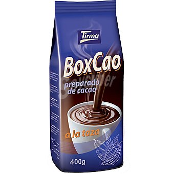 Tirma Boxcao preparado de cacao a la taza Bolsa 400 g