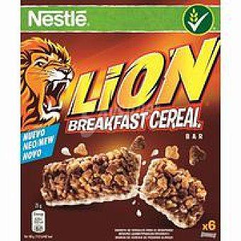 Lion Nestlé Barritas de cereales Caja 150 g