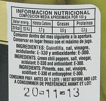 Maestranza Guindilla Vasca en Vinagre 150 Gramos Peso Escurrido